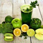sok z zielonych warzyw - porcja zdrowia